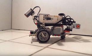 Ce robot Lego s'est comporté comme s'il était un vrai ver.
