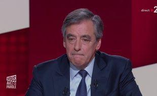 François Fillon était l'invité de l'émission de France 2