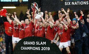 Le pays de Galles vainqueur du 6 Nations 2019.