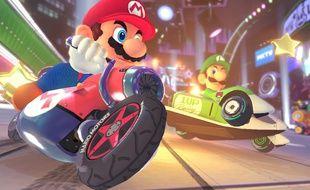 """Mario et Luigi, personnages jouables dans """"Mario Kart 8""""."""