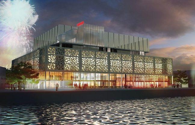 D'une structure métallique, le complexe hôtelier Radisson Blu à Bordeaux sera enveloppé d'un moucharabieh