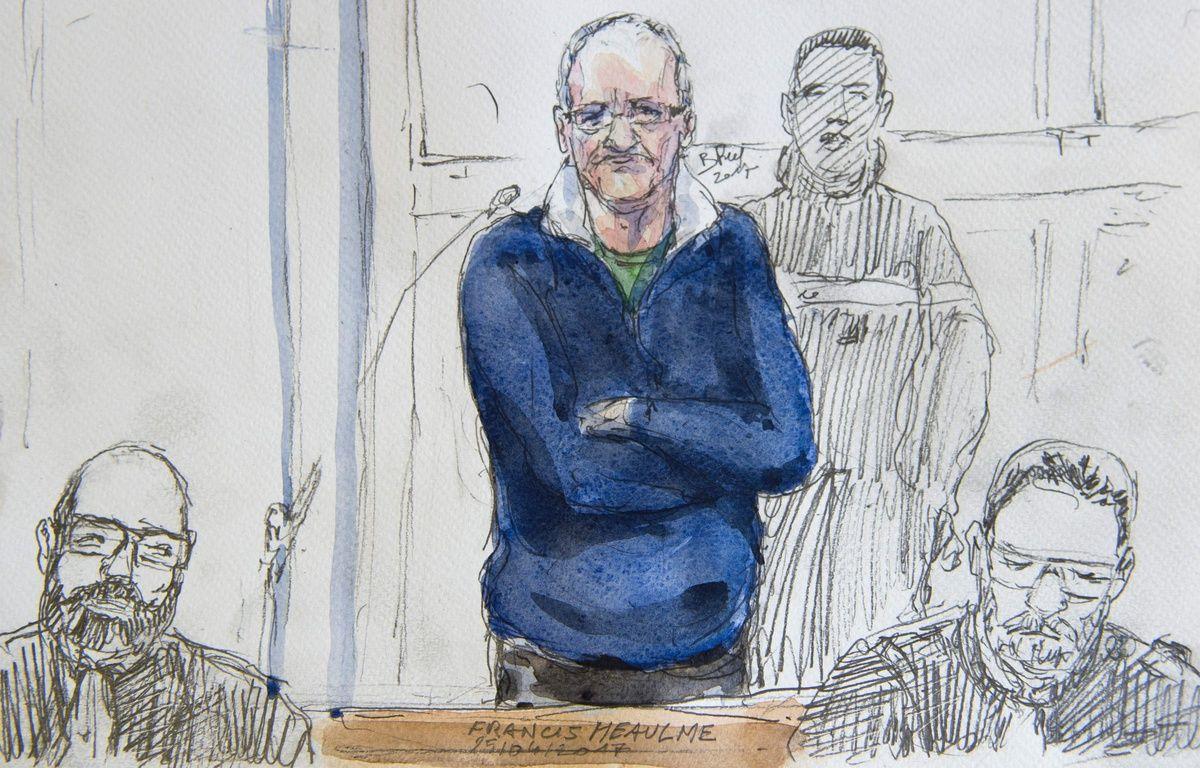Francis Heaulme est jugé depuis mardi 24 varil 2017 pour le meurtre de deux petits garçons en 1986 à Montigny-lès-Metz. – AFP