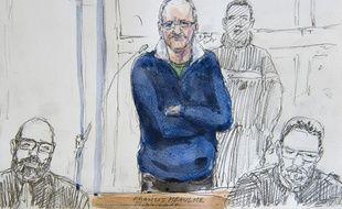 Francis Heaulme est jugé depuis mardi 24 varil 2017 pour le meurtre de deux petits garçons en 1986 à Montigny-lès-Metz.