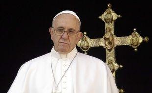 Le pape François, le 25 décembre 2015, au Vatican.