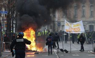 "Manifestation des ""gilets jaunes"" samedi 12 janvier à Strasbourg."