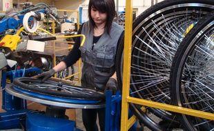 L'usine de vélos La Manufacture française du cycle, propriété du groupe Intersport, à Machecoul