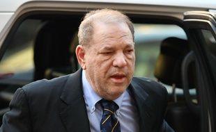 Harvey Weinstein à son arrivée au tribunal de Manhattan, le 24 janvier 2020.