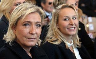 Marine Le Pen et Marion Maréchal-Le Pen, en octobre 2016, à Nice.