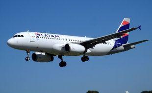 Un avion de la compagnie chilienne Latam Airlines (illustration).