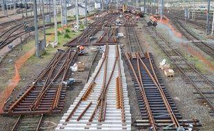 Chantier SNCF à la gare de Bordeaux