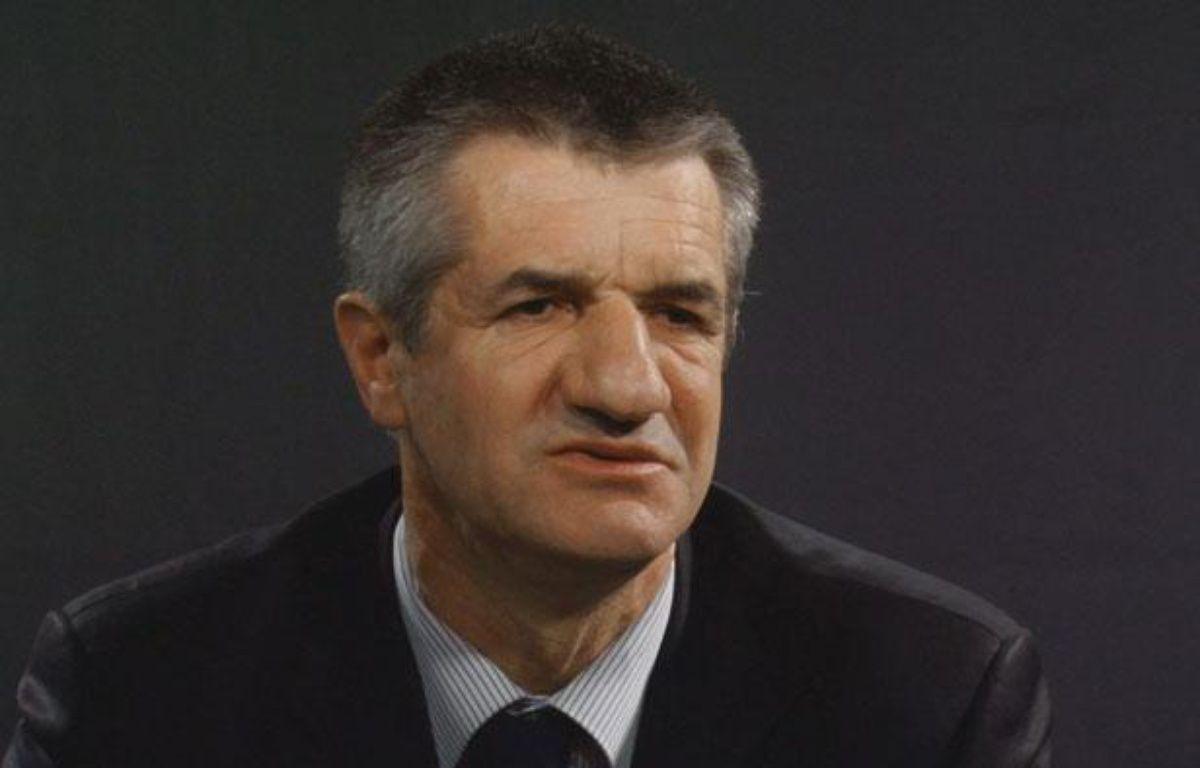 Jean Lassalle, député MoDem des Pyrénées-Atlantiques, le 22 février 2012, dans les locaux de 20 Minutes à Paris. – 20 minutes.fr