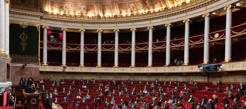 L'Assemblée nationale, le 29 octobre 2020.