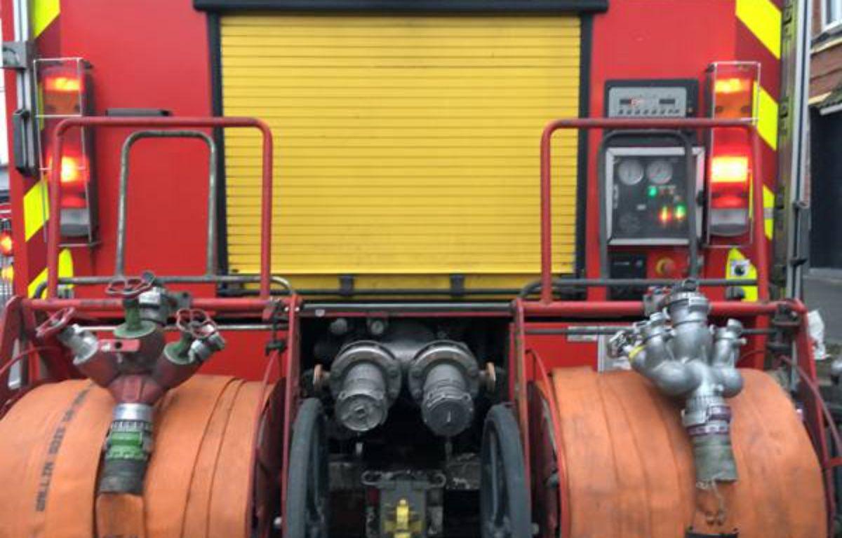 Illustration d'un camion de pompiers. – O. Aballain / 20 Minutes