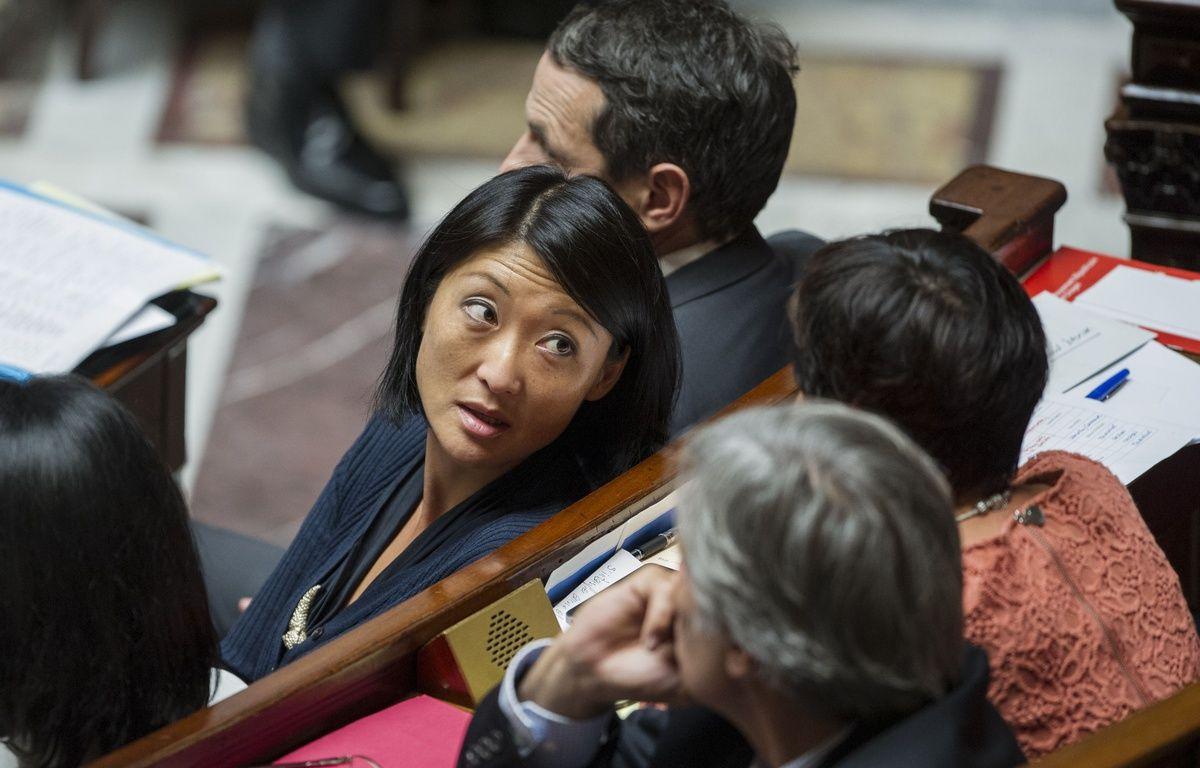 La ministre de la Culture, Fleur Pellerin, le 17 septembre 2014, à l'Assemblée nationale, à Paris. –  ZIHNIOGLU KAMIL/SIPA