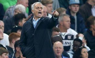 José Mourinho, l'entraîneur le 3 octobre 2015, à Londres.