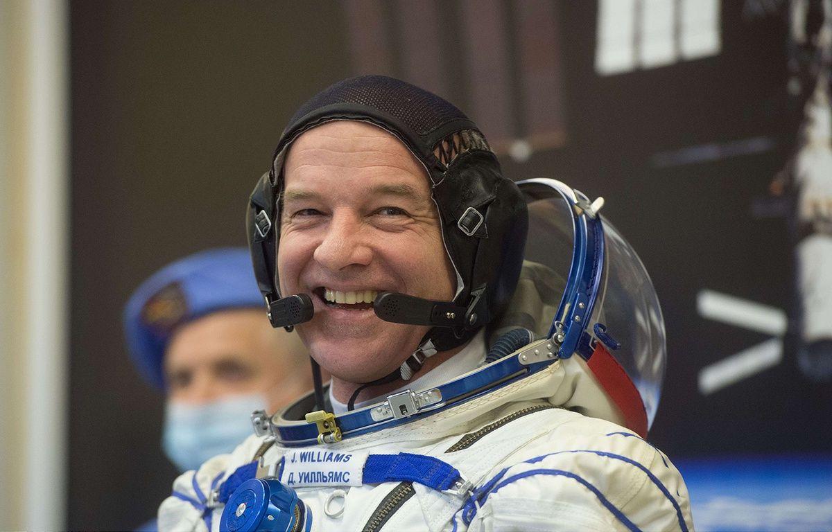 L'astronaute américain Jeff Williams à Baïkonour, le 4 mars 2016. – SIPANY/SIPA