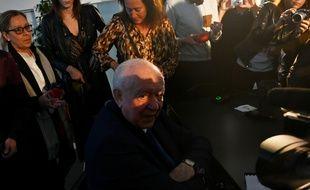 Jean-Claude Gaudin lors de ses derniers voeux à la presse