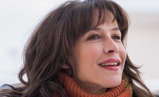 Sophie Marceau au Festival de l'Alpe d'Huez 2018.