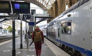 Illustration de train SNCF.