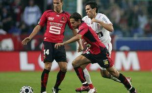 Daniel Moreira lors d'un Stade Rennais-Monaco, en août 2006.