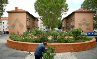 La cite Madrid est l'une des résidences d'Habitat Toulouse.