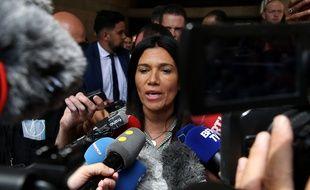 Samia Ghali à la sortie du conseil municipal du 4 juillet 2020