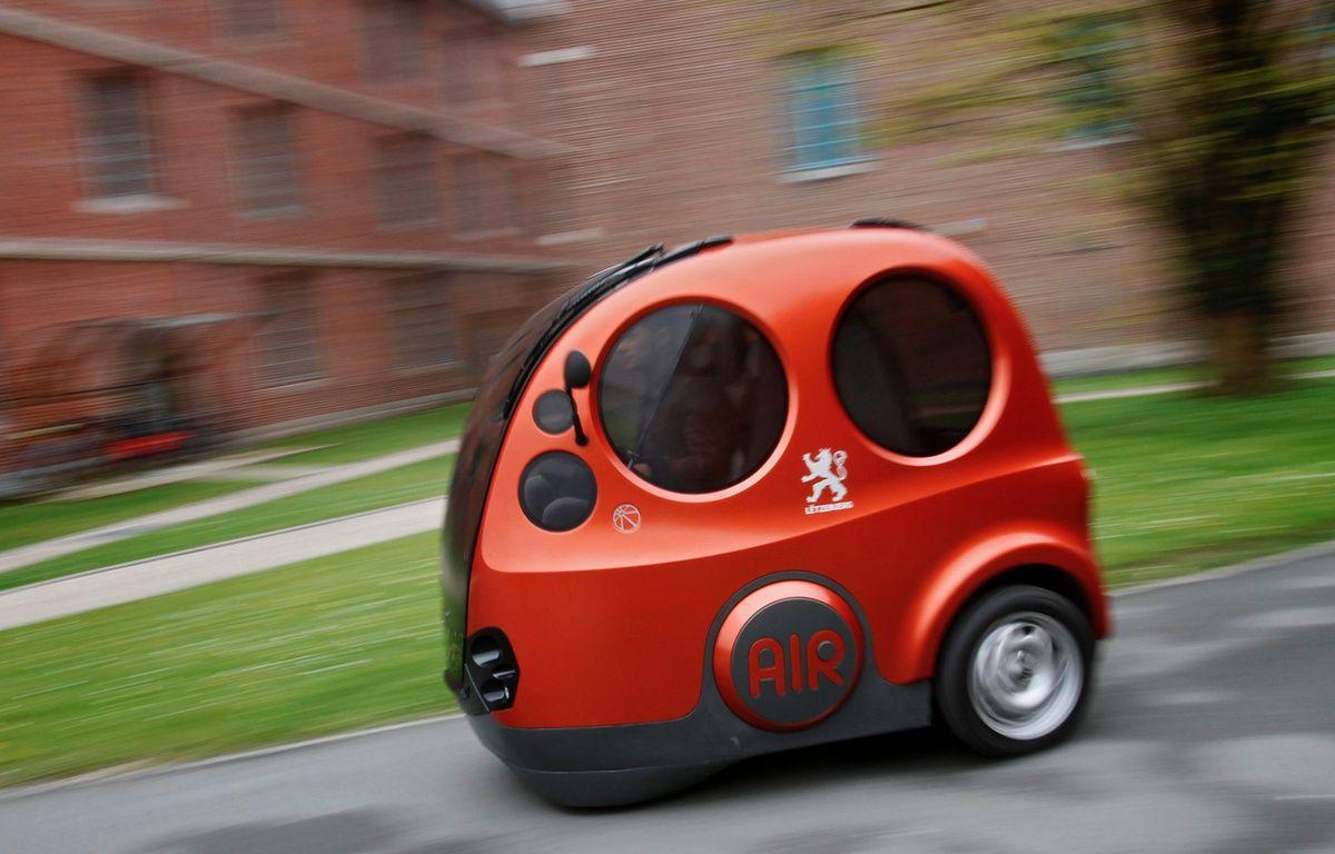 Airpod est une voiturette qui fonctionne avec comme seul carburant de l'air comprimé. – M.Libert/20 Minutes
