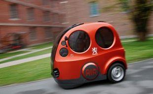 Airpod est une voiturette qui fonctionne avec comme seul carburant de l'air comprimé.