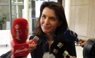 Christelle Morançais, présidente du conseil régional des Pays de la Loire depuis le 19 octobre 2017.