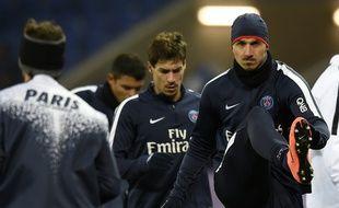 Ibra et Stambouli sous le maillot du PSG.