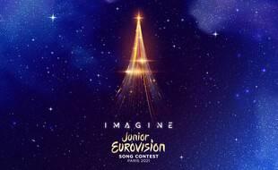 Le logo et le slogan de l'Eurovision Junior 2021;