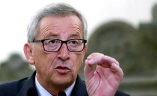 Le nouveau président de la Commission européenne, Jean-Claude Juncker, le 4 août 2014 à Athènes