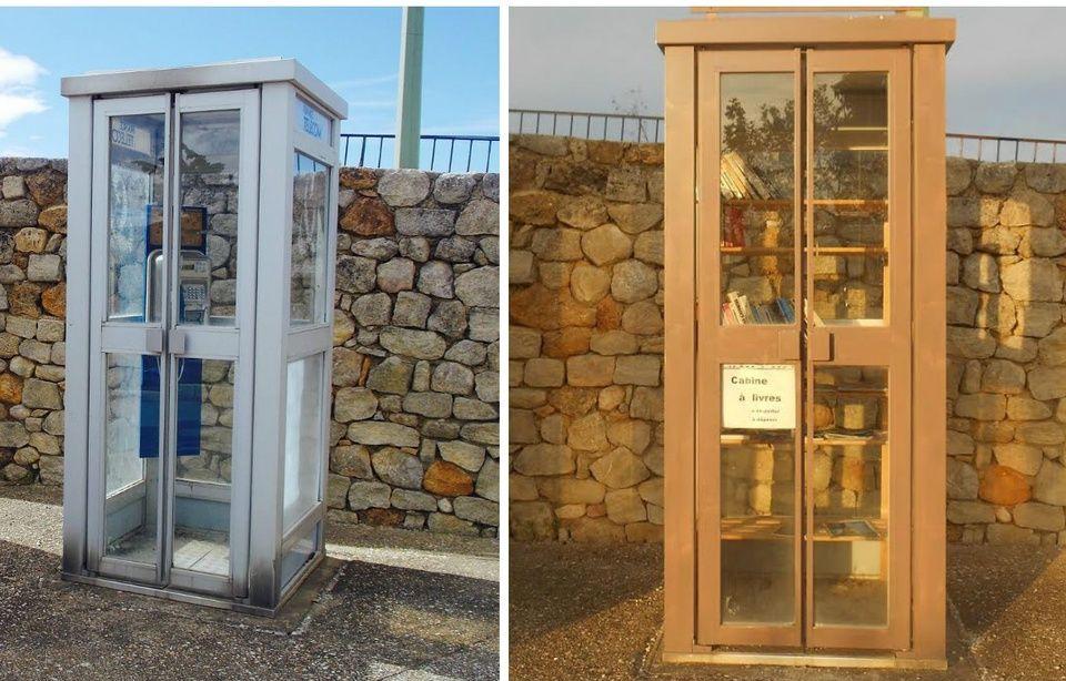 La disparition des cabines téléphoniques 960x614_cabine-telephonique-transformee-bibliotheque