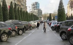 Le parking Vilaine compte précisément 252 places dans le centre-ville de Rennes.