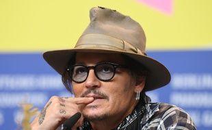 L'acteur Johnny Depp