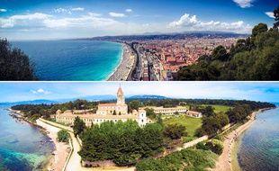 La promenade des Anglais, à Nice, et l'île Saint-Honorat, au large de Cannes, sont au cœur des dossiers.
