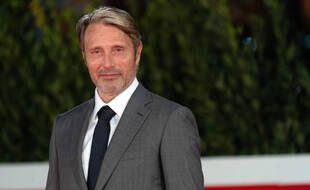 Mads Mikkelsen au 15e Festival du film de Rome le 20 octobre 2020.