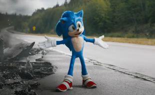 Le personnage de Sonic au cinéma.