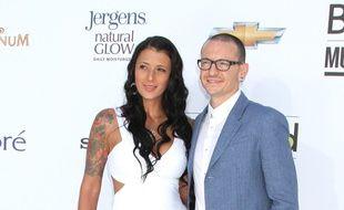 Talinda et Chester Bennington, le leader de Linkin Park