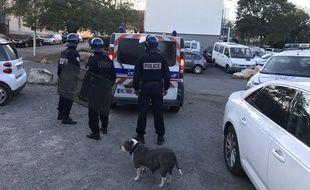 Quatre policiers ont été blessés mercredi à la cité Gély à Montpellier