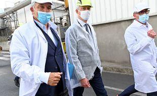 Bruno Le Maire, ministre de l'économie, visite l'usine Lesaffre dans le cadre du plan de relance. (archives)