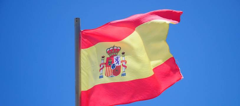 Illustration du drapeau espagnol.