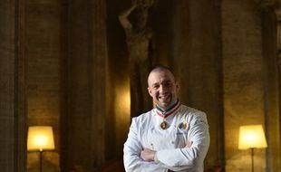 Guillaume Gomez, le chef cuisinier de l'Elysée.