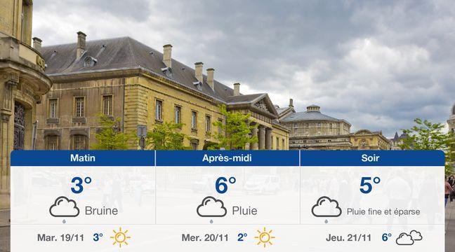 Météo Reims: Prévisions du lundi 18 novembre 2019 - 20minutes.fr