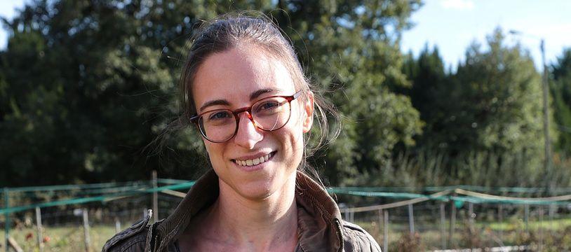 Rachel Lagière, 30 ans, installe une micro-ferme aux portes de Bordeaux.