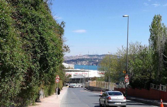 Le Vodafone Arena du Besiktas, inauguré en avril 2016, se trouve à quelques dizaines de mètres seulement du Bosphore.