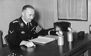 Heinrich Himmler, l'un des principaux acteurs de l'Holocauste, le 1er janvier 1939.