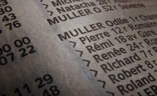 Le nom de famille Muller est l'un des trois plus portés en Alsace. (Illustration)