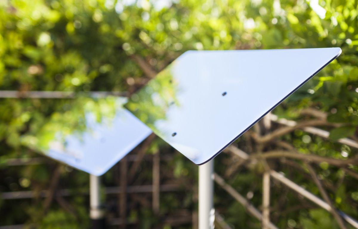 Des réflecteurs Espaciel à installer sur une terrasse – Espaciel