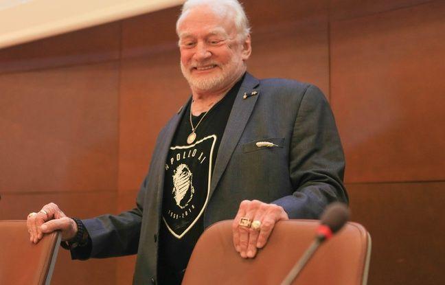 Buzz Aldrin. Strasbourg le 01 juillet 2019.